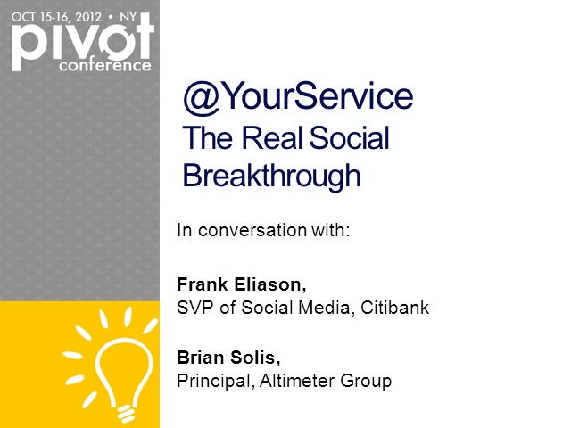@YourService, The Real Social Breakthrough