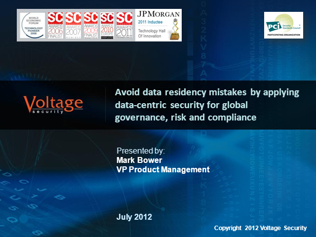 Avoid data residency mistakes and reduce risk and compliance challenges