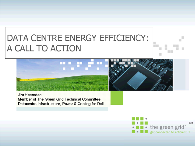 Data Center Energy Efficiency: A Call To Action