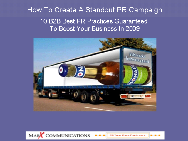 How To Create A Standout B2B PR Campaign