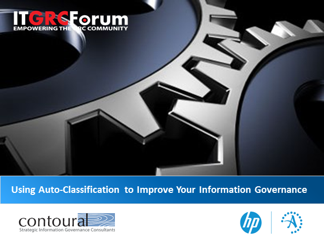 Using Auto-Classification to Improve Your Information Governance Practices