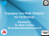 Engaging Your Math Students via Technology