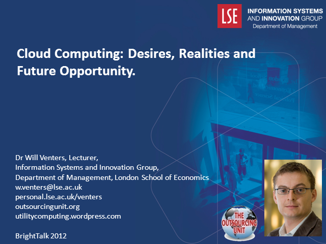 Cloud Computing: Desires, Realities and Future Opportunity