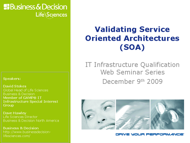 Validating Service Oriented Architecture (SOA)