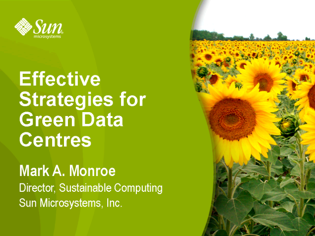 Effective Strategies for Green Data Centres