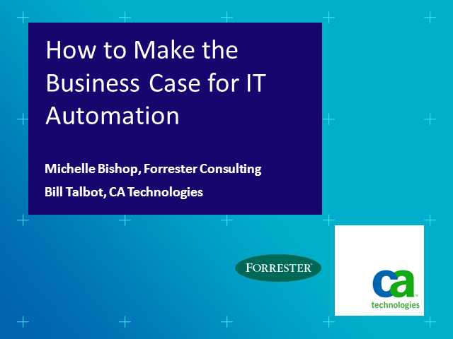 How to Make the Business Case for IT Automation