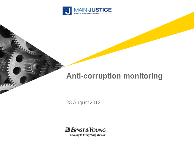 Designing and Implementing an Effective Anti-Corruption Compliance Monitoring Pr