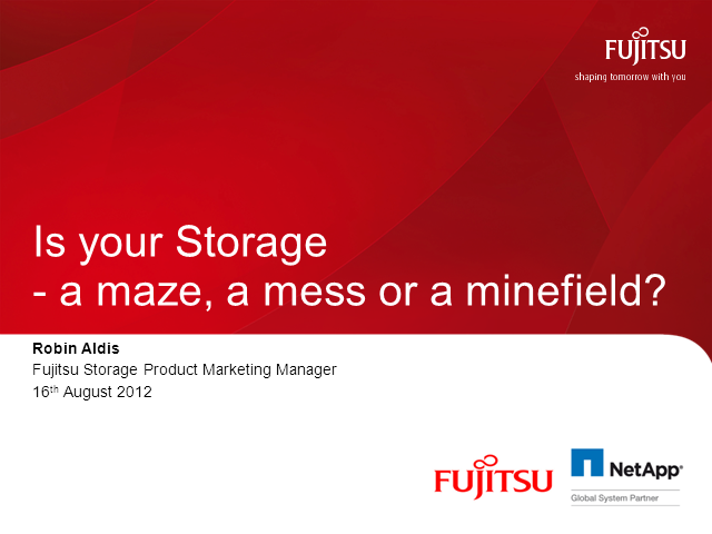 Is Your Storage a Maze, a Mess or a Minefield?
