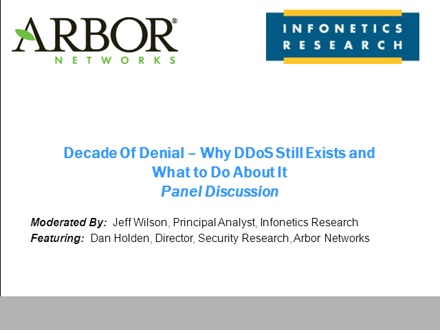 A Decade of Denial: Why DDoS Still Exists and What To Do About It
