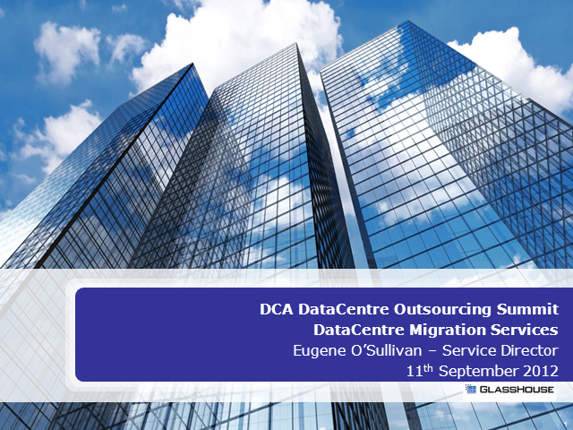 Data Centre Migration - getting the strategy right