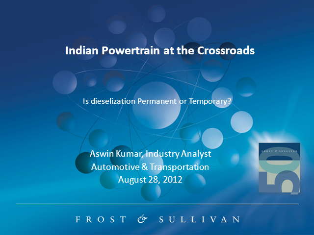 Indian Powertrain at Crossroads – Is Dieselization Permanent or Temporary?