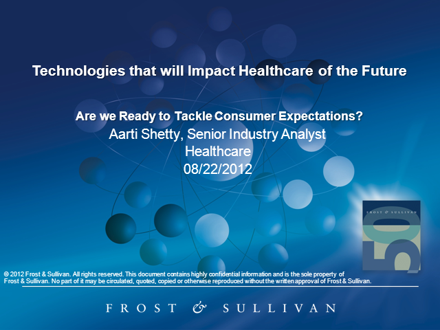 New Technologies Impacting Future of Healthcare