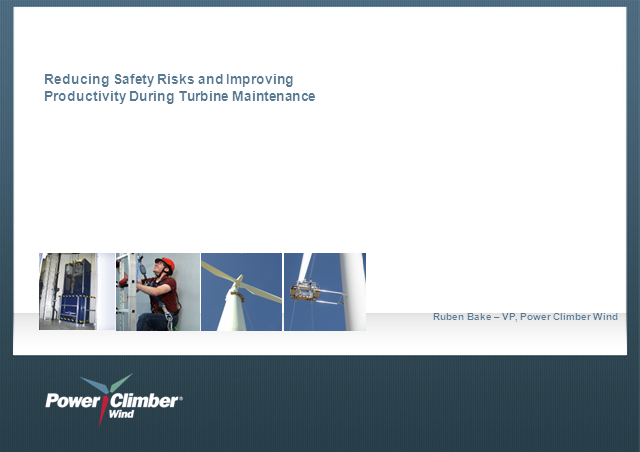 Three Strategies To Reduce Risk & Boost Productivity During Turbine Maintenance