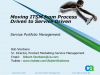 Moving ITSM from Process Driven to Service Driven
