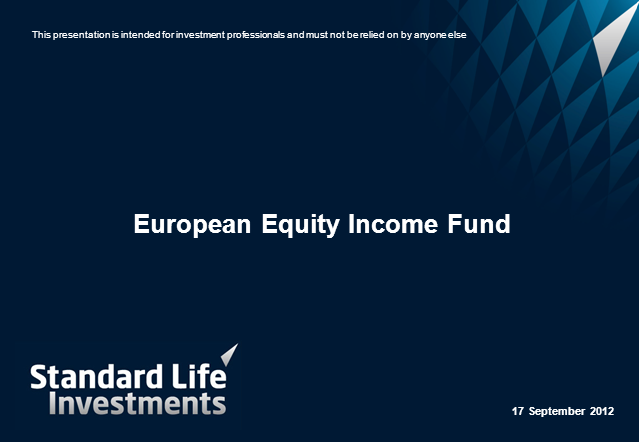European Equity Income