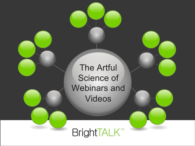 Roundtable: The Artful Science of Webinars and Videos