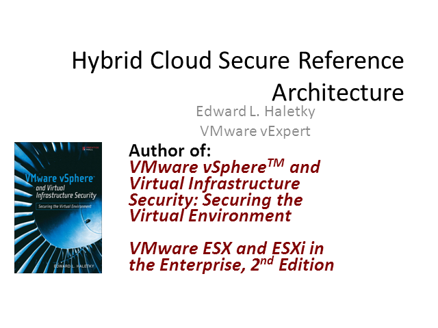 The Complexities of a Secure Hybrid Cloud Reference Architecture