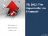 ITIL 2012 - The Aftermath of Implementation