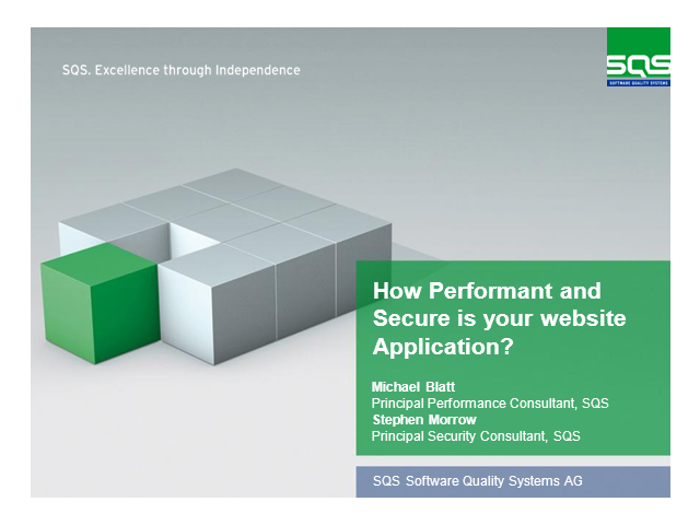 How Performant and Secure is your website Application?