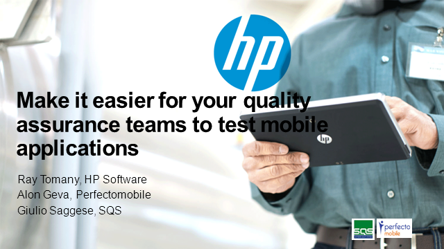 Make it easier for your quality assurance teams to test mobile applications