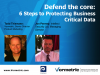 Defend the Core - Protecting Critical Business Data
