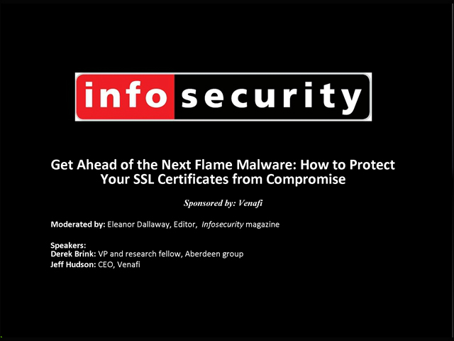 Get Ahead of the Next Flame Malware: How to Protect Your SSL Certificates