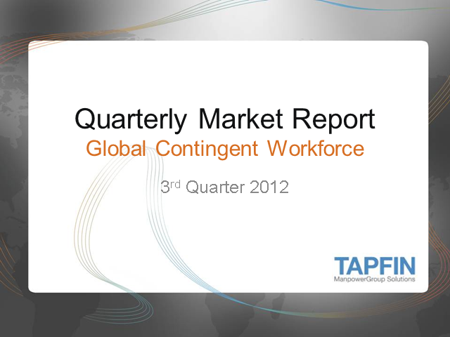 Quarterly Market Report: Gain Insights Surrounding Workforce Planning