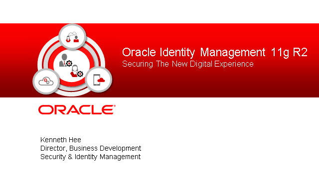 Introducing Oracle Identity Management 11gR2