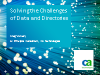 Solving the Challenges of Data and Directories