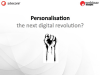 Personalisation - the next big thing in digital?