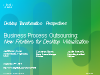Business Process Outsourcing: New Frontiers for Desktop Virtualization