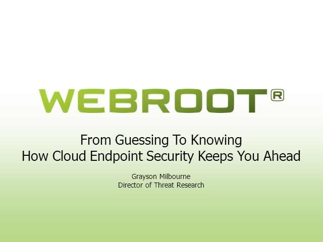 From Guessing To Knowing—How Cloud Endpoint Security Keeps You Ahead of Threats