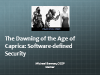 The Dawning of the Age of Caprica: Software-defined Security