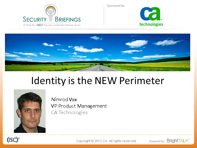 Identity is the new Perimeter: Part III Virtualization Challenges