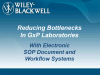 Reducing Bottlenecks In GxP Laboratories