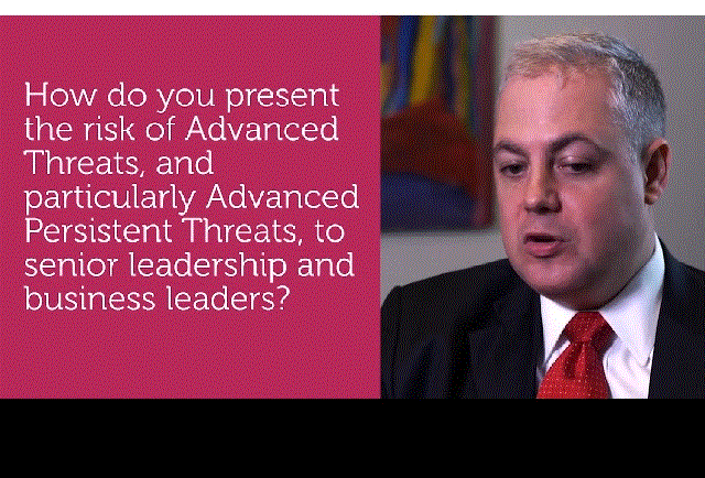 Security Leadership Interview Series on Advanced Threats: Question #5