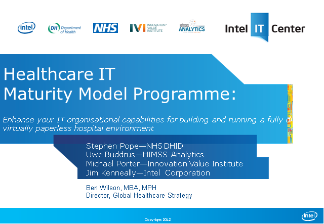 Healthcare IT Maturity Model Programme