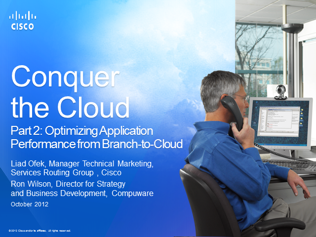 Optimizing Application Performance from Branch-to-Cloud