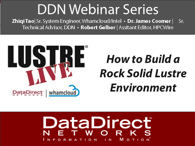 How To Build a Rock Solid Lustre Environment