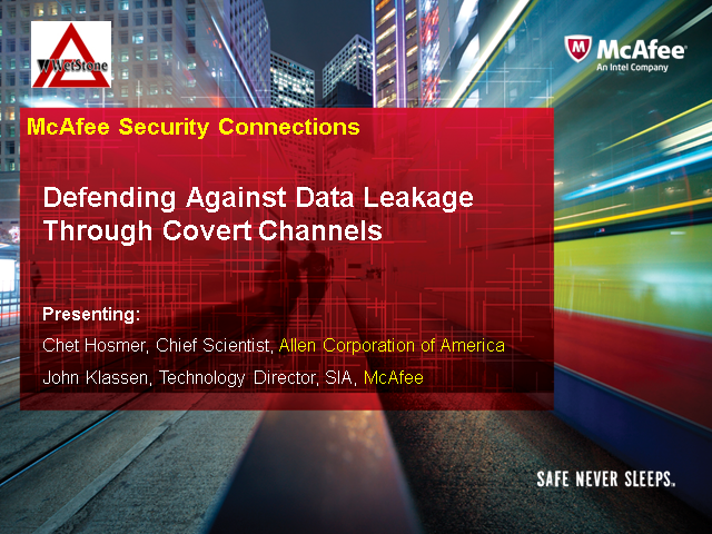 Defending Against Data Leakage Through Covert Channels