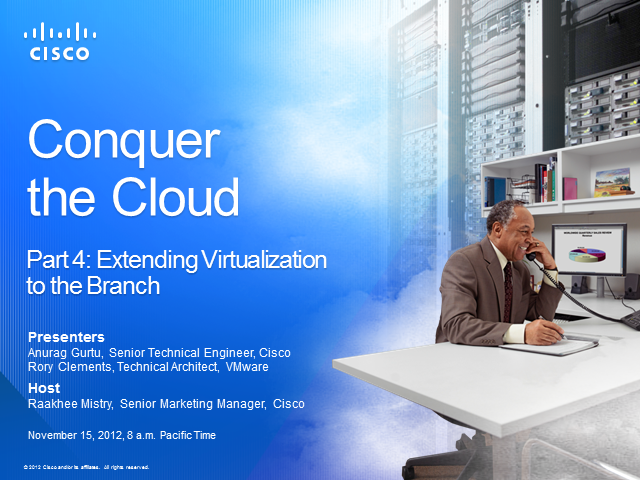 Extending Virtualization to the Branch