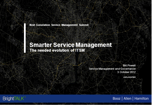 Smarter Service Management: The Needed Evolution of ITSM