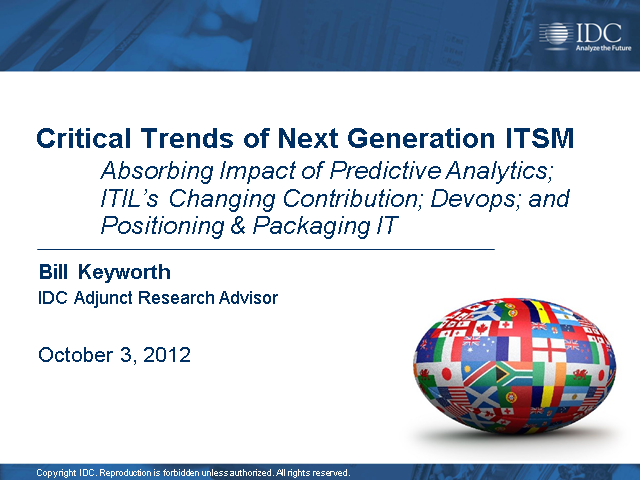 Critical Trends of Next Generation ITSM