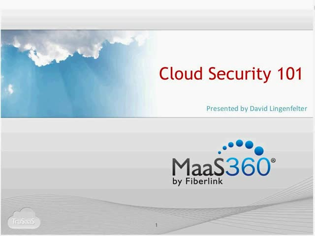 Cloud Security 101