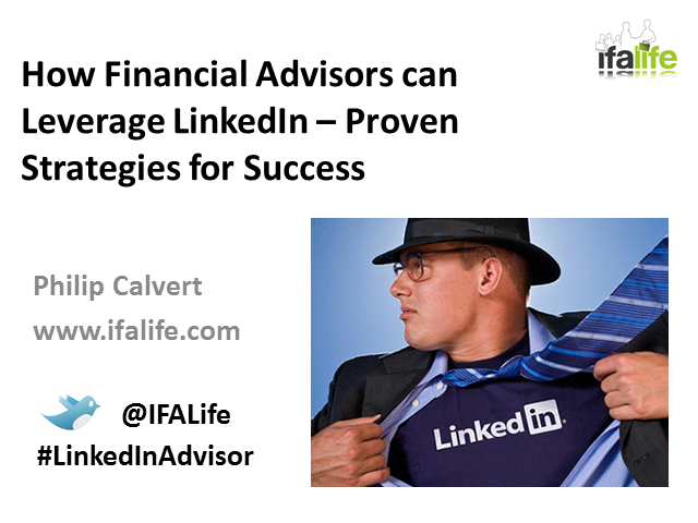 Proven Strategies for RIAs and Fee-Only FAs to Successfully Leverage LinkedIn