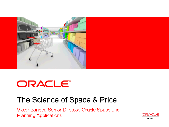 The Science of Space & Price