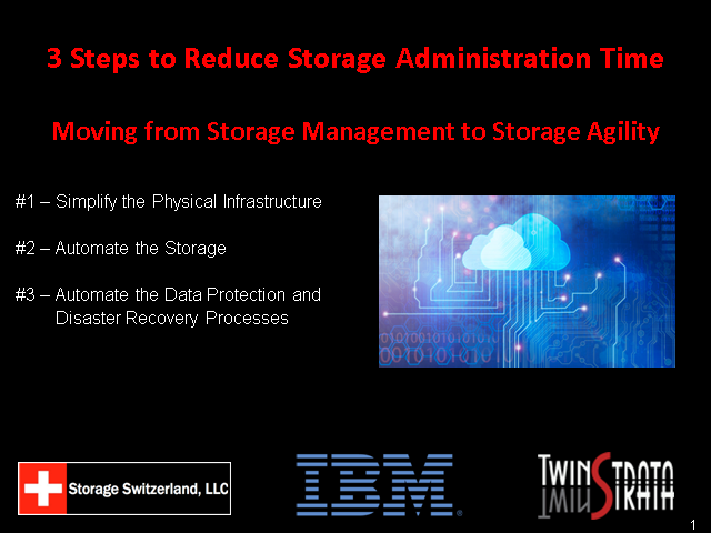 3 Steps To Use The Cloud To Eliminate Storage Administration Headaches