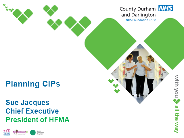 Joint/HFMA/Monitor CIP Webinar Series: Planning CIPs