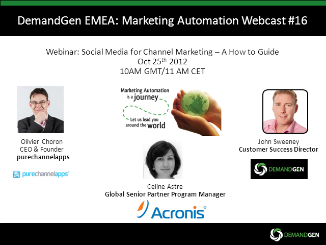Social Media and Cloud for Channel Marketing - A How to Guide