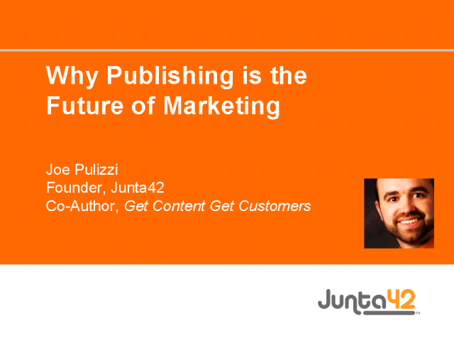 Why Publishing is the Future of Marketing
